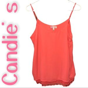 Candie's sleeveless top size L